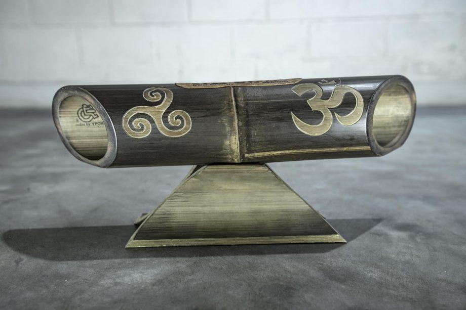 Amalur Bamboo Carving speaker – TRISKEL OMH