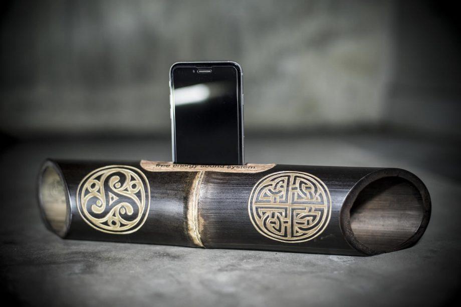 Amalur Bamboo speaker - TRISKEL - NUDO PERENNE