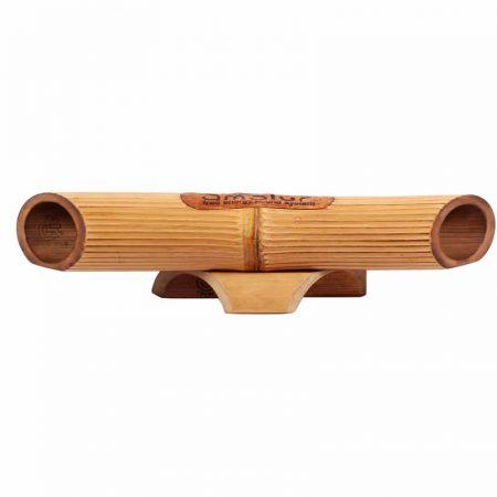 Amalur bambú speaker - White bamboo - Striped