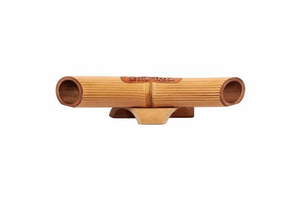 Altavoz de bambú Amalur - Bambú claro - RAYADO