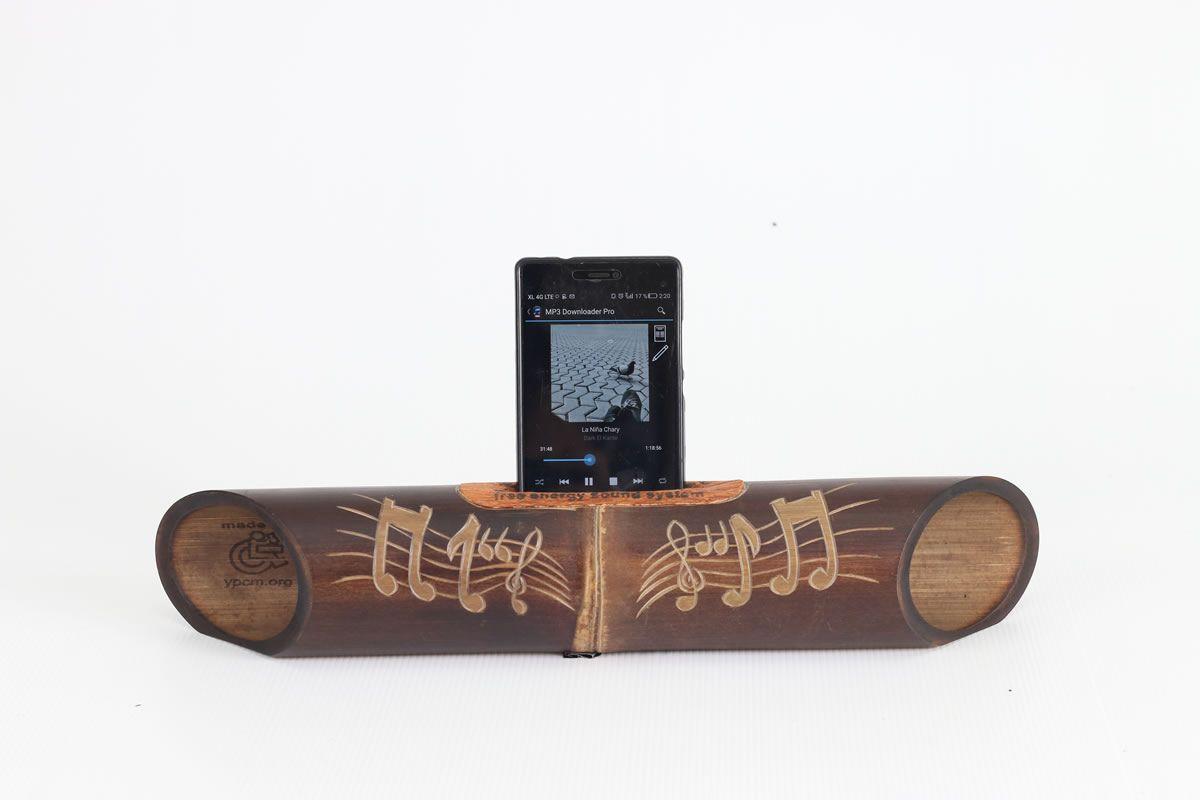 Bambú decorativo y funcional - NOTAS MUSICALES