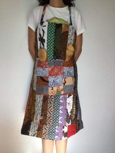 delantal patchwork - Arte Javane