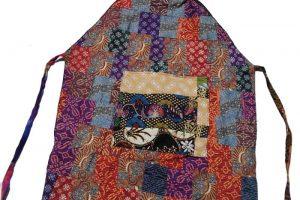 Patchwork apron - ARTE JAVANE
