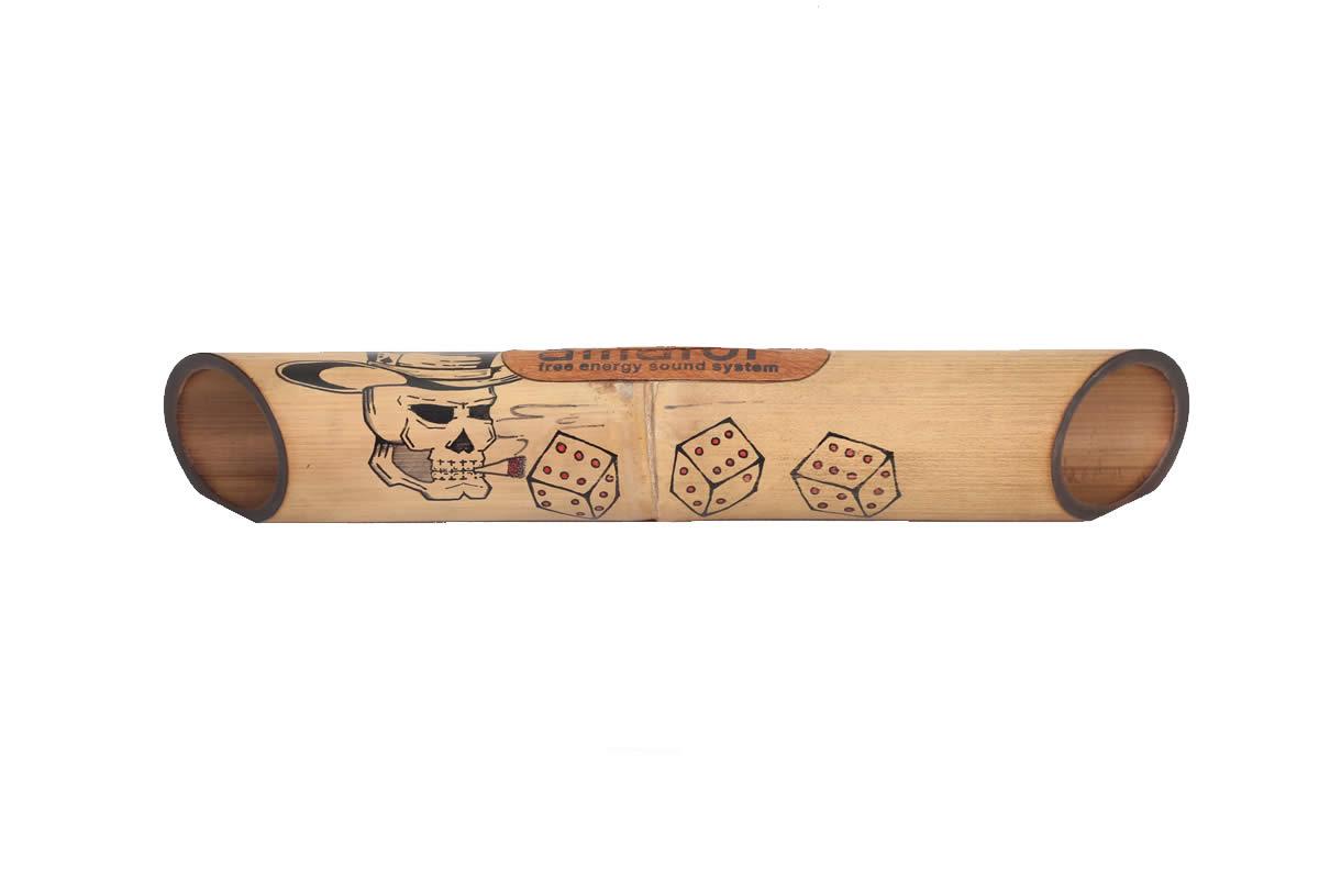 Amalur Bamboo speaker - Ghost Gambler - Hendrik Muntu
