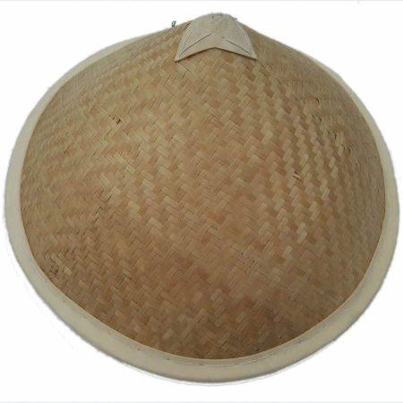 Asian conical hat with big edges - Arte Javane