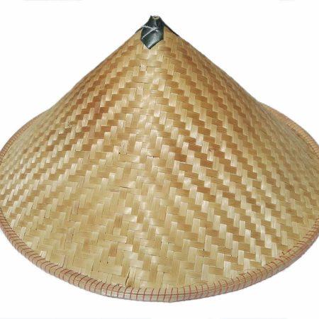Dark bamboo conical hat - Arte Javane